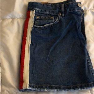 Zara striped skirt !
